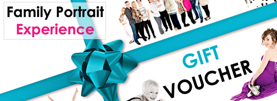 Family photo shoot experience gift voucher