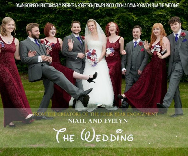 Niall & Evelyn – 24th July 2016