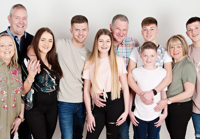 Big Family Group Portraits