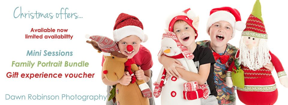Christmas Portraits and Gift Experience Vouchers